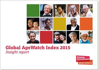 Global AgeWatch Index 2015 Cover